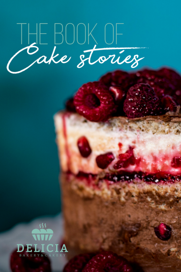 The book of Cake Stories - A Media Tag Product Photography For Delicia Cakery & Bakery