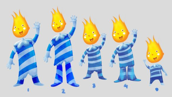 ANIMATED SERIES | OGI THE CANDLE | CLIENT: DREAMLAND PLAYGROUNDS